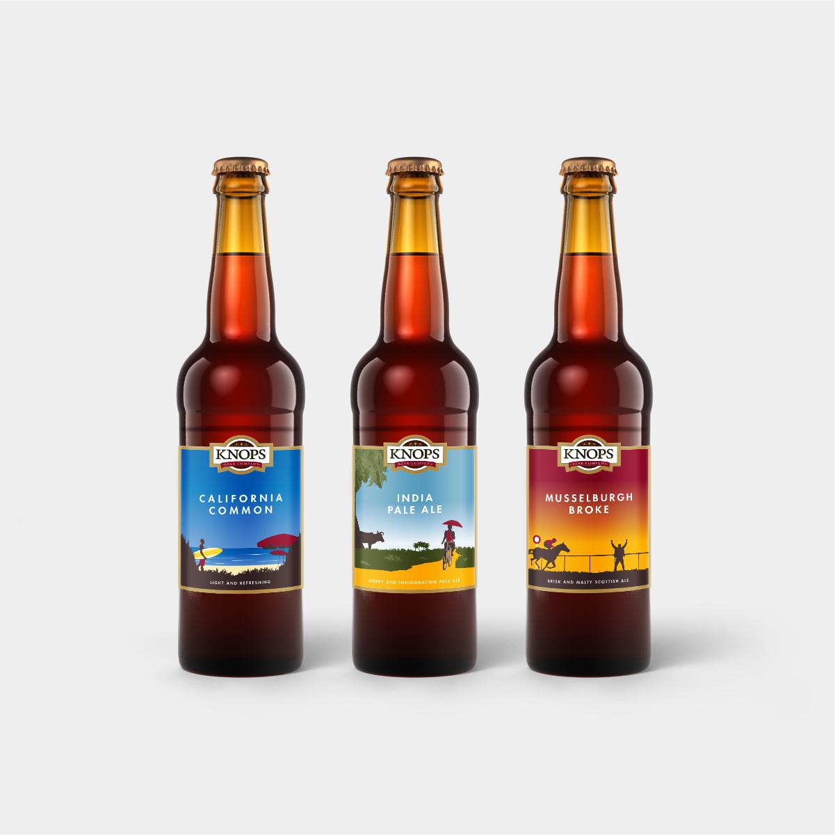Knops Beer Company Bottles Thumbnail